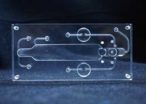 Custom Plastic Manifold Acrylic