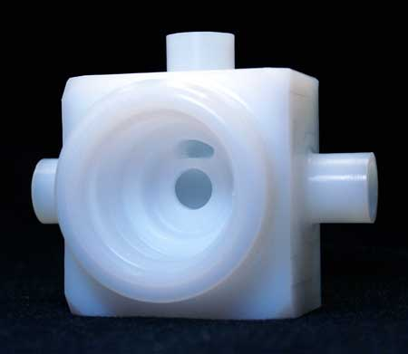 Milled Plastic Component
